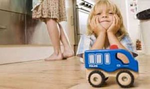 Mode Flooring Kid with Truck